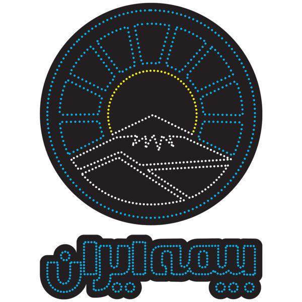 تابلو ال ای دی طرح بیمه ایران کد 10357