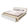 تخت خواب دونفره مدل شارینا سایز 205*160 سانتی متر
