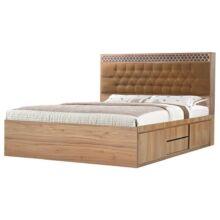 تخت خواب دو نفره کد۳۰۱ سایز ۱۶۰* ۲۰۰ سانتی متر