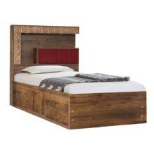 تخت خواب یکنفره کد ۲۲۰ سایز ۹۰×۲۰۰ سانتی متر