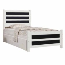 تخت خواب یک نفره کد SP02 سایز ۹۰×۲۰۰ سانتیمتر